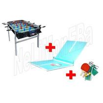 P R O M O -25% Metegol Estadio Profesional + Tapa Ping Pong