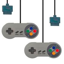 Kit 2 Controles De Super Nintendo Snes Similar Original Novo