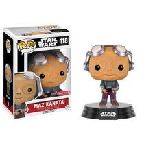 Funko Pop Maz Kanata Googles Up Exclusivo Star Wars Only At