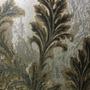 12032 - Folhagem (Marrom Claro/ Preto/ Detalhes com Glitter Dourado/ Detalhes Metálicos)