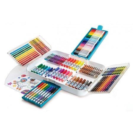Estuche Colores, Plumones, Crayola, Set Kit. Dibujo Pintura ...
