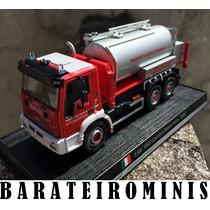 1:64 Iveco Camion Citerne - Del Prado - Bombeiros Do Mundo