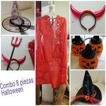 Combo Halloween 8 Piezas