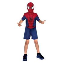 Fantasia O Espetacular Homem Aranha 2 Curta - Rubies Tam P