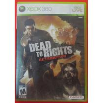 Dead To Rights Retribution Para Xbox 360