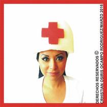 Sombrero Espuma Enfermera Boda Fiesta Xv Dj Lentes Peluca