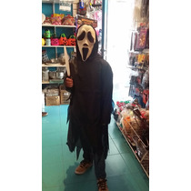 Disfraz Scream Screem Tunica Talle Grande Niños Halloween