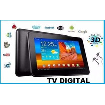 Kit Tablet Com Chip Foston Dual Core 3g Celular Tv 2-sim Hd