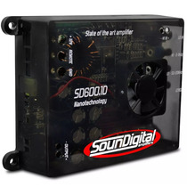Modulo Potencia Soundigital Sd6 00.1d Sd600 Sd600.1 600w Rms