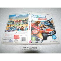 My Sims Racing Original Europeu Pal C/ Caixa P/ Wii