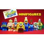 Bob Esponja - Set Completo X 8 Mini Figuras - Sim. Lego