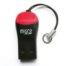 Mini Leitor Cartão De Memória E Micro Sd Lote 100 Peças
