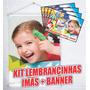 Imãs De Geladeira + Banner Grátis - 40 Imas + 1 Banner