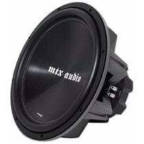 Bajo Subwoofer Mtx 7500 15 Pulgadas 1200 Watts Max Nuevo