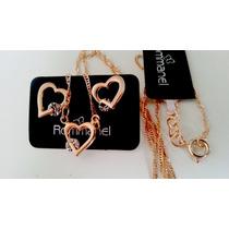Conjunto Folh. Rommanel Love Coração Presente Dia Namorados