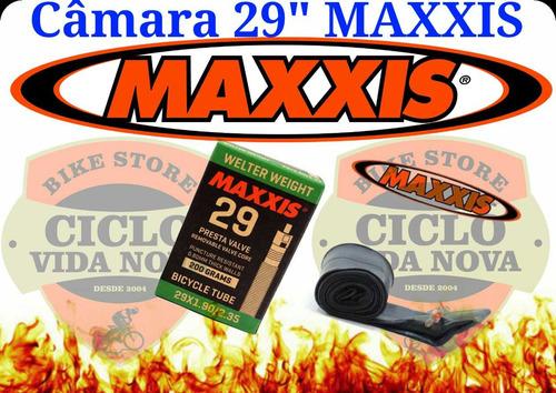 0e9a0ff8e Camara De Ar Maxxis Aro 29 Mtb Válvula Presta 48mm - R  39