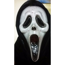 Máscara Scream Sangre Halloween Terror Oferta 50% Off Fiesta