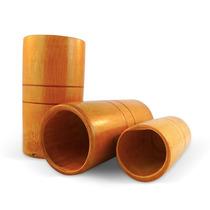 Ventosas De Bambu P/ Ventosaterapia Massoterapia Kit Com 3un
