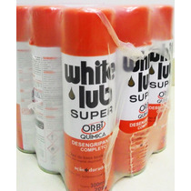 Desengripante White Lub Super Spray 300ml Com 12 Unidades
