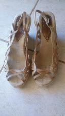 b52604a51f Sapatos De Salto Usados Feminino Tamancos Usado no Mercado Livre Brasil