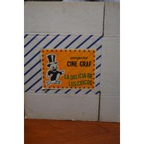 Retro - Caja De Antiguo Proyector Cine Graf Ind Argentina