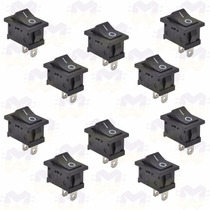 Chave Gangorra - Interruptor Liga-desliga - 10 Un P/ Arduino