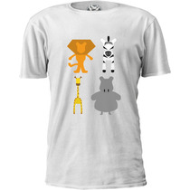 Camiseta Madagascar Minimalistic