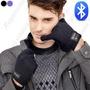 Guantes Bluetooth Manos Libres Tactil Recargable Usb Mp3 New