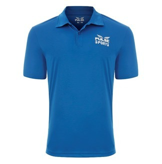f82196bee Camiseta Polo Pulse Grupo Everlast Azul Royal - R  39