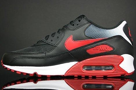 a796dccedad Tenis Nike Air Max 90 Preto E Vermelho Nº37 Ao 43 Original - R  550