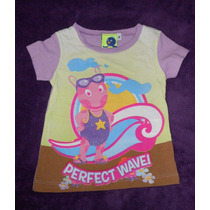 Backyardigans! Playerita Rosa Con Uniqua, Talla 2 Años