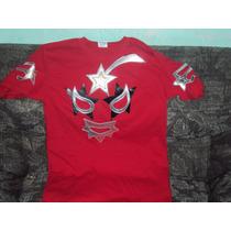 Playeras De Mascara Luchador Super Astro Lucha Libre Mexican