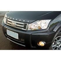 Kit Letreiro Emblema Capo Ford Ecosport Cromado 2004 A 2012