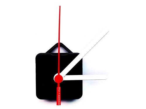 f24fcff3ee1 Kit 10un Maquina Relógio Ua Quartz Silenciosa Eixo 13mm - R  39
