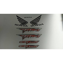 Kit Adesivos Honda Titan 150 2008 Esd Cinza