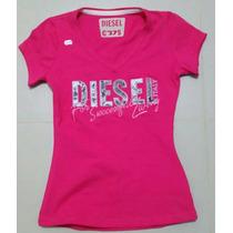 Camiseta Dama Bordadas Hollister, Abrercombie S, M, L, Xll