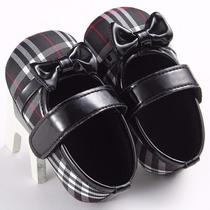 Sapatilhas Sapatinhos Calçados P Bebês Meninas 0 A 18 Meses