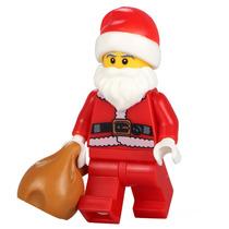 Swa 17 Genial Papa Noel Santa Clauss Compatible Con Lego