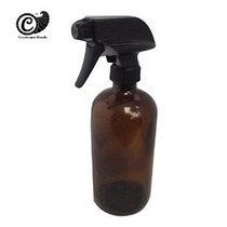 Recargables Botella Del Aerosol De Vidrio Ámbar 16 Oz Con He