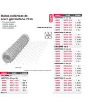 Malla Ciclonica 55x55 Cal 11 1.50x20m