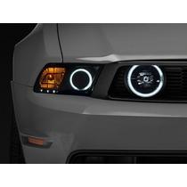 Faros De Niebla Ahumados Raxiom Ford Mustang Gt 2005 - 2012