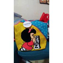 Mochila Pequeña O Lonchera Chenson De Mafalda