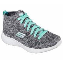 Zapatos Skechers Para Damas Burst-space 12730 - Gry