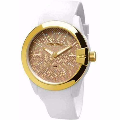 Relógio Mormaii Feminino Branco Pul. Silicone Mo2039ai 8d - R  149,00 em  Mercado Livre c5f5aa64db