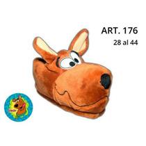 Pantuflas De Peluche Scooby Doo