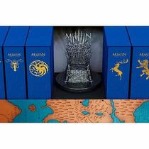 Box Coleção Ed Luxo Guerra Dos Tronos / Gelo E Fogo + Trono