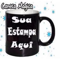 Caneca Magica Personalizada + Arte Grátis + Caixa Presente
