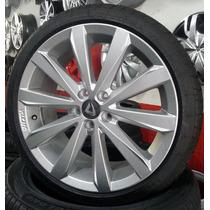 Rodas Misty 17 + Pneus 205/40/17 Gol G5 G6 Astra Civic Hb20