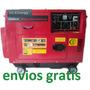 Generador Planta Electrica Diesel Silenciosa Portatil 6500 W