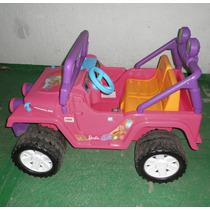 Carro Camioneta Niñas Jeep Barbie Funcianando Al 100%